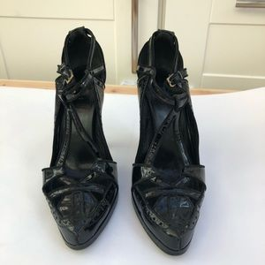 Shoes - PHI patent leather high heel shoes